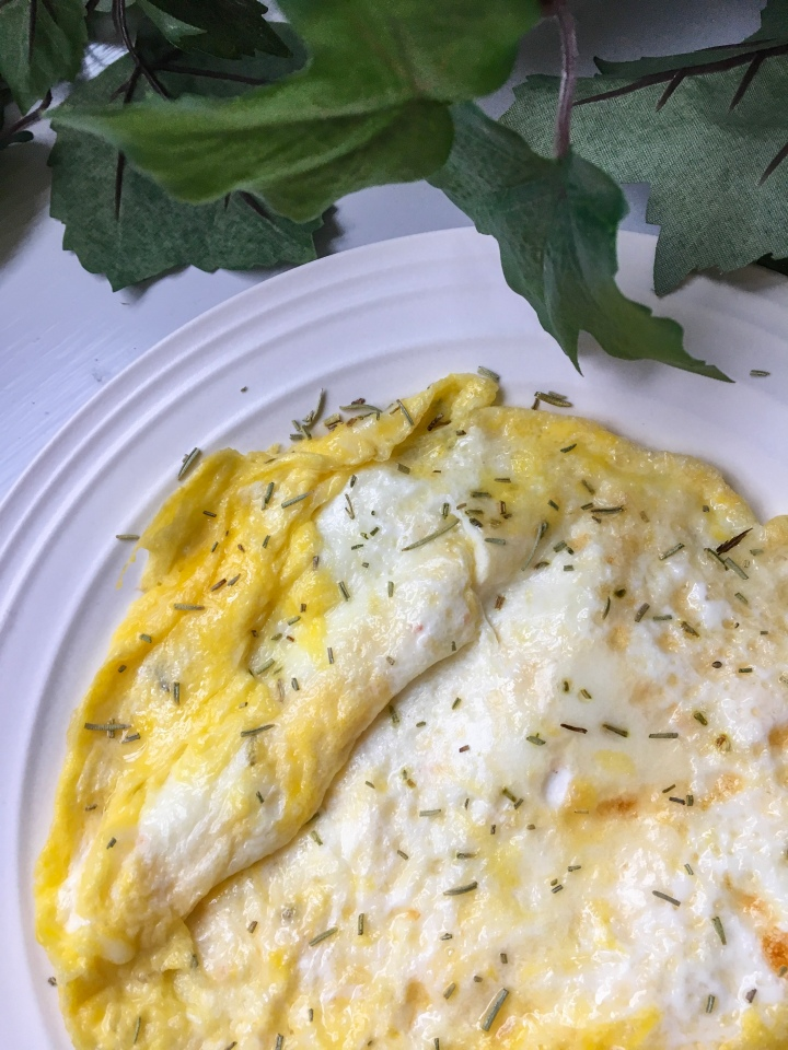 Easy Cheesy Eggs
