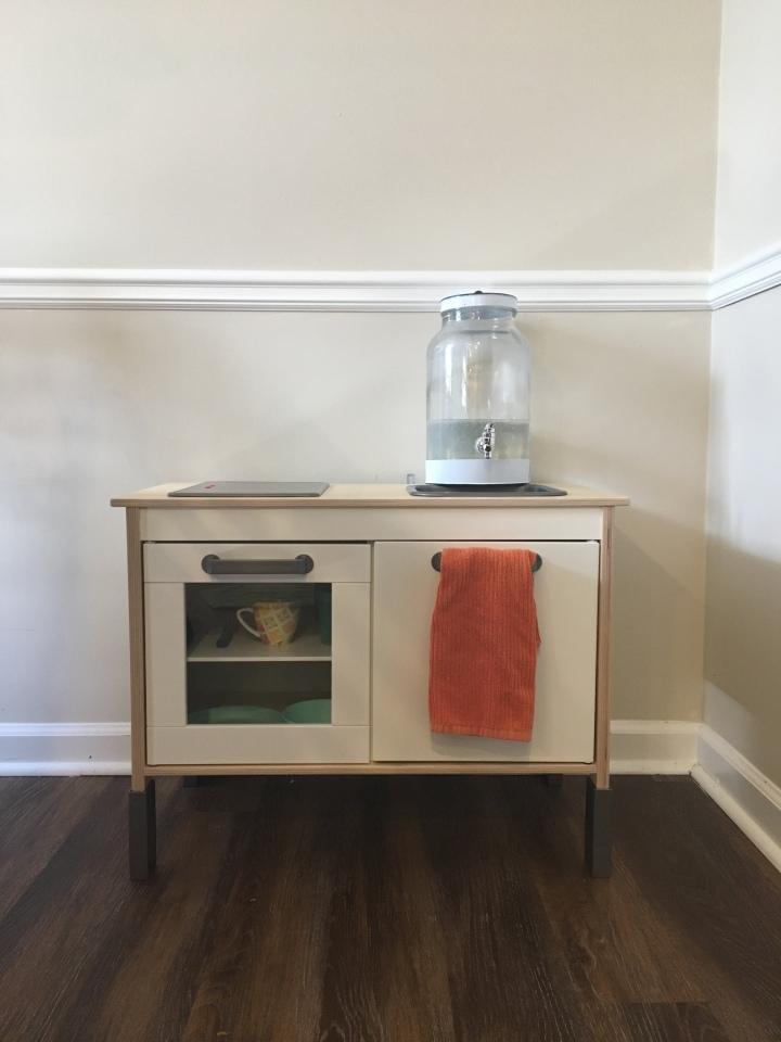 Our Toddler Kitchen SetUp