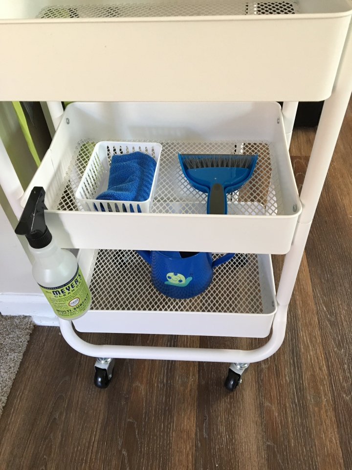 Toddler-Friendly Utility Cart
