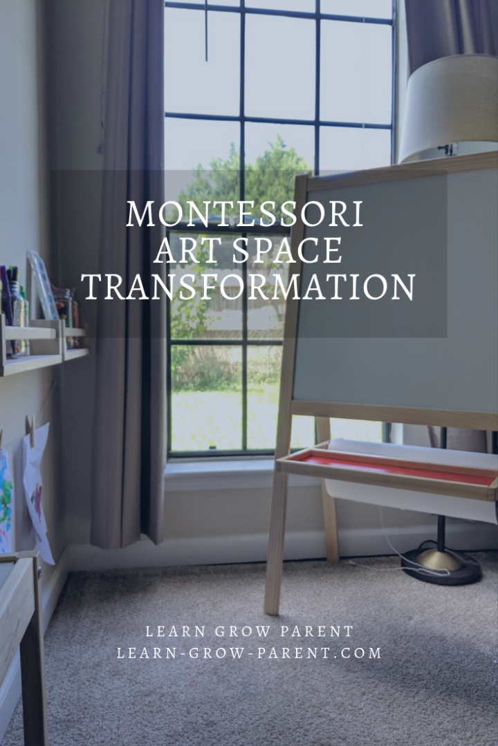 Montessori Art Space Transformation